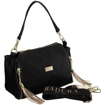 Torbice Ženske Ročne torbice Badura 119530 Črna