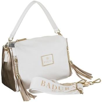 Torbice Ženske Ročne torbice Badura 122050 Bela