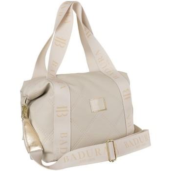 Torbice Ženske Ročne torbice Badura 119160 Krem