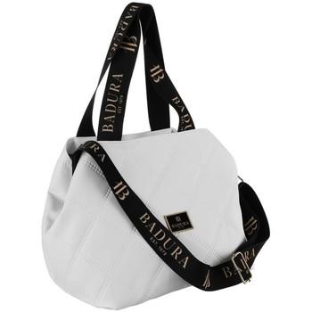Torbice Ženske Ročne torbice Badura 122600 Bela
