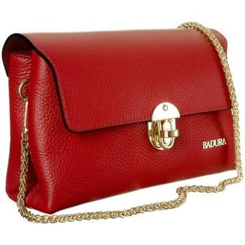 Torbice Ženske Ročne torbice Badura TD218CRCD Rdeča