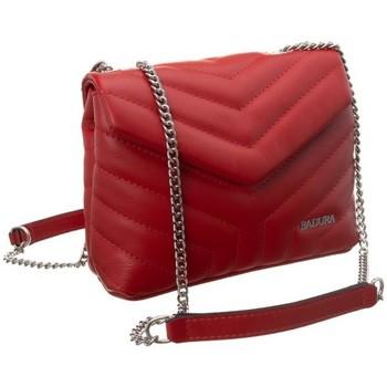 Torbice Ženske Ročne torbice Badura 84190 Rdeča