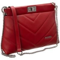 Torbice Ženske Ročne torbice Badura 81610 Rdeča