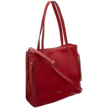 Torbice Ženske Ročne torbice Badura 91620 Rdeča