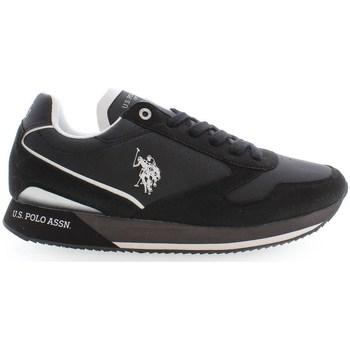 Čevlji  Moški Nizke superge U.S Polo Assn. NOBILE003 Črna