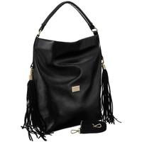 Torbice Ženske Ročne torbice Badura 125260 Črna