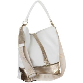 Torbice Ženske Ročne torbice Badura 115970 Bela
