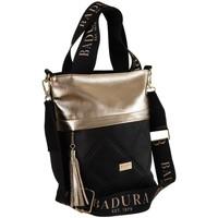 Torbice Ženske Ročne torbice Badura 119470 Črna, Zlata