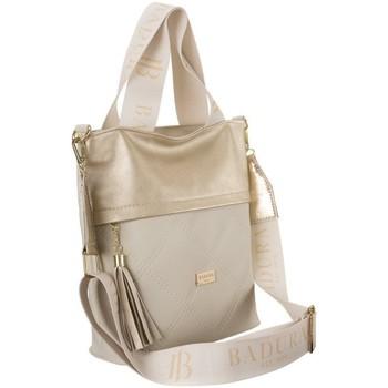 Torbice Ženske Ročne torbice Badura 122150 Zlata