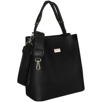 Torbice Ženske Ročne torbice Badura 107290 Črna