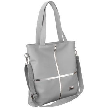 Torbice Ženske Ročne torbice Badura TD176SZCD Siva
