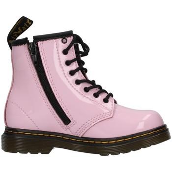 Čevlji  Deklice Gležnjarji Dr Martens 1460T PINK