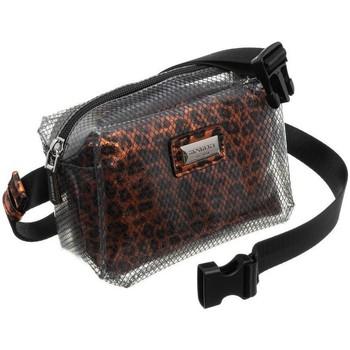 Torbice Ženske Ročne torbice Monnari BAG2950M03 Črna, Rjava