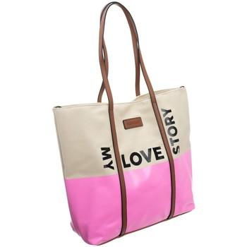 Torbice Ženske Ročne torbice Monnari 67960 Bež, Roza