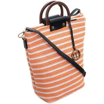 Torbice Ženske Ročne torbice Monnari 68000 Bela, Oranžna