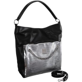 Torbice Ženske Ročne torbice Monnari BAG1190020 Črna