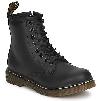 Čevlji  Otroci Polškornji Dr Martens DM J BOOT Črna