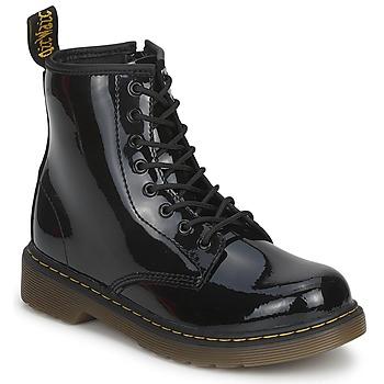 Čevlji  Deklice Polškornji Dr Martens DELANEY Črna