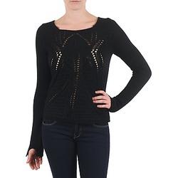 Oblačila Ženske Puloverji Antik Batik LACE Črna