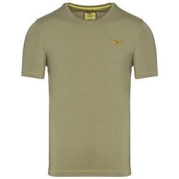 Oblačila Moški Majice s kratkimi rokavi Aeronautica Militare TS1819 Olivna