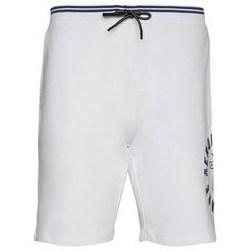 Oblačila Moški Kratke hlače & Bermuda Aeronautica Militare BE109F41973 Bela