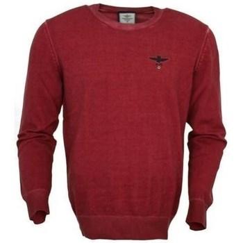 Oblačila Moški Puloverji Aeronautica Militare MA1336L43819 Bordo rdeča