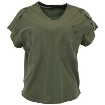 Oblačila Ženske Majice s kratkimi rokavi Aeronautica Militare TS1883 Zelena