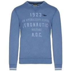 Oblačila Moški Puloverji Aeronautica Militare MA1327L43421 Modra