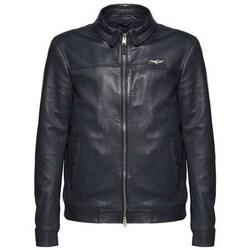 Oblačila Moški Jakne Aeronautica Militare 201PN50071807 Črna