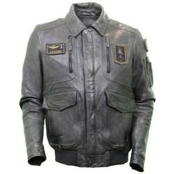 Oblačila Moški Jakne Aeronautica Militare PN915PL147 Siva