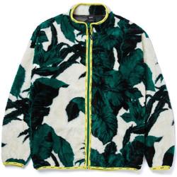 Oblačila Moški Puloverji Huf Sweat sativa floral fz sherpa Bež