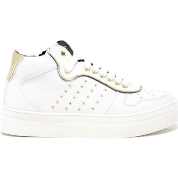 Čevlji  Otroci Nizke superge 4us 4U-062 Biely