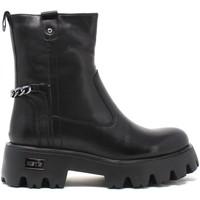 Čevlji  Ženske Gležnjarji Keys K-5750 Črna