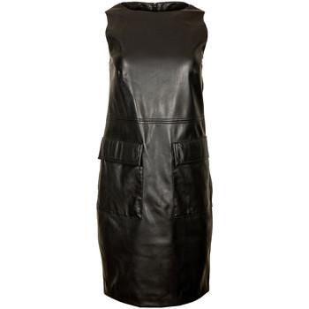 Oblačila Ženske Kratke obleke Trussardi 56D00468-1T004841 Črna