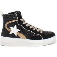 Čevlji  Ženske Visoke superge Gold&gold B21 GB159 Črna