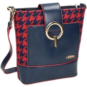 Torbice Ženske Ročne torbice Nobo 99420 Rdeča, Mornarsko modra
