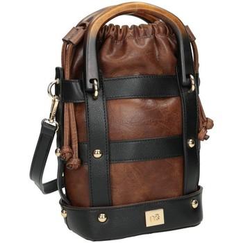 Torbice Ženske Ročne torbice Nobo 101300 Rjava
