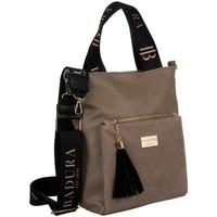Torbice Ženske Ročne torbice Badura 131150 Bež