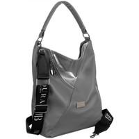 Torbice Ženske Ročne torbice Badura 131410 Siva