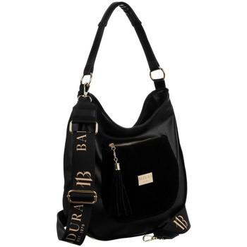 Torbice Ženske Ročne torbice Badura 131310 Črna