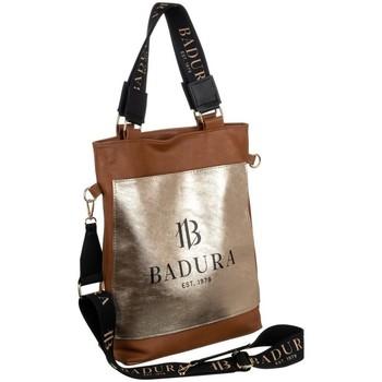 Torbice Ženske Ročne torbice Badura 131070 Zlata, Rjava