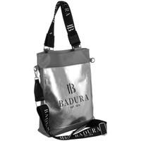 Torbice Ženske Ročne torbice Badura 131080 Siva, Srebrna