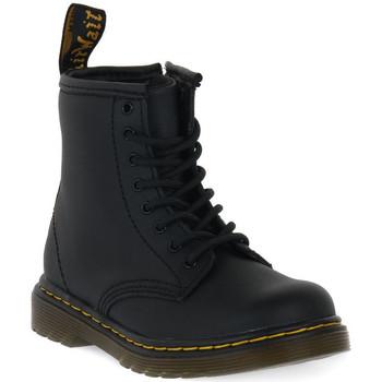 Čevlji  Otroci Polškornji Dr Martens 1460 BLACK SOFTY T Nero