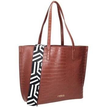 Torbice Ženske Ročne torbice Nobo 100240 Rjava