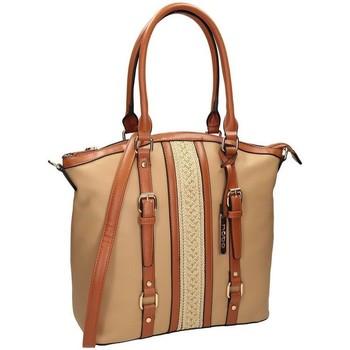 Torbice Ženske Ročne torbice Nobo 100030 Bež