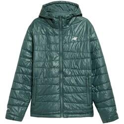 Oblačila Moški Jakne 4F H4Z21 KUMP005 Zelena