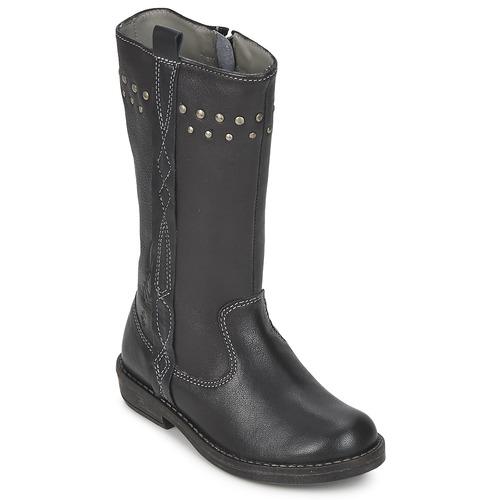 Čevlji  Deklice Mestni škornji    Noel FREESIA Črna