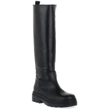 Čevlji  Ženske Mestni škornji    Priv Lab 302 NERO VITELLO Nero