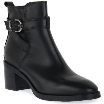 Čevlji  Ženske Gležnjarji Priv Lab 3414 VITELLO NERO Nero