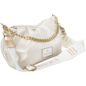 Torbice Ženske Ročne torbice Badura TD225BECD Krem